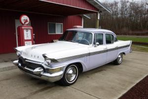 1957 Packard Clipper Town Sedan - Original McCulloch Supercharged Studebaker V8