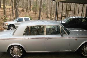 1979 Silver Shadow II 75th Silver Anniversary Edition Photo