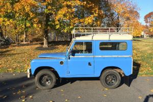 1971 Land Rover Series III 88, 2.25, LHD direct from UK, pre Defender