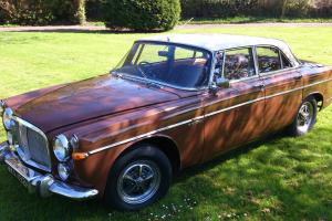 1969 Rover P5B Coupe Two tone Brown and Cream