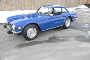 1976 TRIUMPH TR6 HIGHLY ORIGINAL SURVIVOR