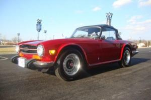 1974 Triumph TR6 Convertible 2-Door 2.5L Photo