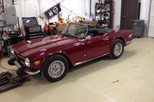 1974 Triumph TR6  Convertible 2-Door 2.5L, W. Overdrive Photo