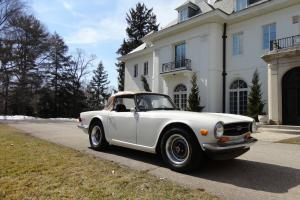 1973 Triumph TR6 OUTSTANDING DRIVER!! MECHANICALLY SOLID!! NO RESERVE!!! Photo