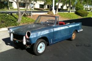 1965 TRIUMPH HERALD CALIFORNIA CONVERTIBLE with HARDTOP