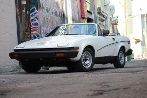 1980 Triumph TR7, 72,000 miles, 5-speed, good condition