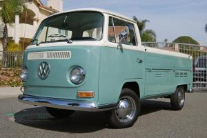 1968 VW Transporter, freeway transmission, ground-up restored