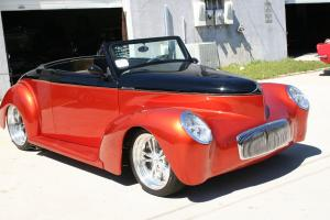 1941 Willys Roadster Heritage Body Suicide Doors 350CI Thumper Cam L@@K VIDEO