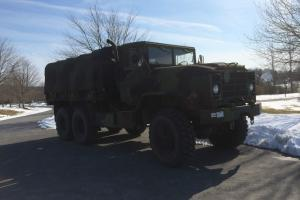 1991 BMY M923A2 6X6 5 Ton Cargo Truck - Hard Top and Cargo Cover - 18,983 miles
