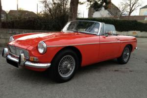 MG MGB 1.8 Twin SU Carbs Roadster Sports Convertible 1971 Manual/Overdrive Photo