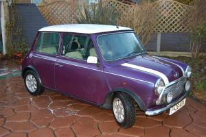 Rover Mini Cooper Mpi 1997 Amaranth with white roof/stripes one owner since 1998