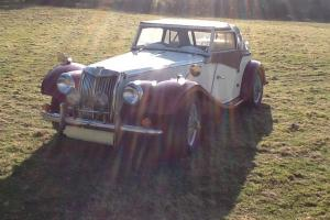 Gentry Kit car mg tf replica on Triumph Vitesse 1967 barn find hot rod sports