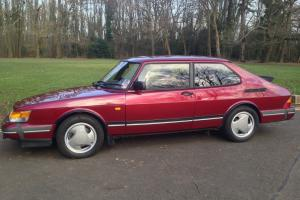 Saab 900T16S Ruby Edition rare low miles Unique opportunity. ***no reserve***