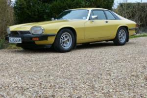 1980 W Jaguar XJS PRE-H.E 5.3 AUTO COTSWOLD/BLACK LEATHER-3 OWNERS-29000 MILES