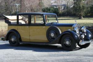 1936 Rolls-Royce 25/30 Barker Landaulette GXM15 Photo