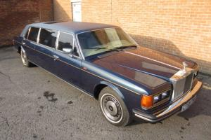 1986 Rolls Royce Silver Spur Touring Limousine