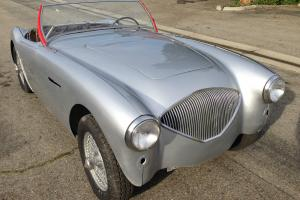 1955 Austin Healey 100-4. BN1 3-speed OD. Restoration Needs finishing. Complete Photo
