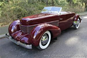 "1937 Cord 812 Sportsman - ""The Lost Cord"" - Restored - SEE VIDEO"