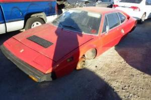 1975 Ferrari 308 GT4 Stripped Excellent Italian Project Red on Black  $6800.00