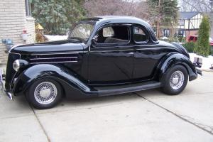 1936 FORD 5/WINDOW COUPE