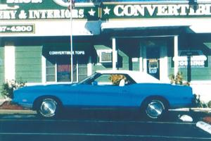 Collector's 1971 Ford Mustang Convertible, Automatic, V-8, 351, One Lady owner.