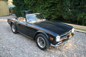 triumph tr6 1971 CP model  Photo