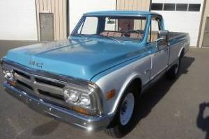 1971 Blue 3/4 Ton Runs & Drives Great Interior & Body Good!