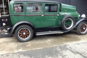 1929 HUDSON SUPER SIX VINTAGE ANTIQUE COLLECTOR