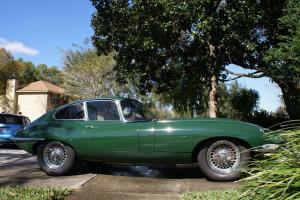 1968 Jaguar E-Type XKE Series 1.5 Coupe British Racing Green Black Leather FHC