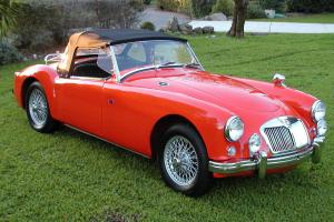 ** BEAUTIFUL 1957 MGA ROADSTER **