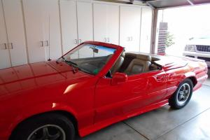 88 FORD MUSTANG ASC MCLAREN #1440 Limited Edition