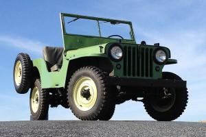 1946 Willys CJ-2A VEC Jeep!  Original condition, very early production!