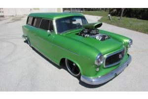 WICKED AMERICAN RAMBLER PRO STREET BLOWN AND BAGGED STATION WAGON AIR RIDE 850HP