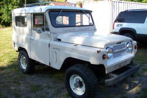 1969 NISSAN PATROL 4X4 RARE COLLECTIBLE