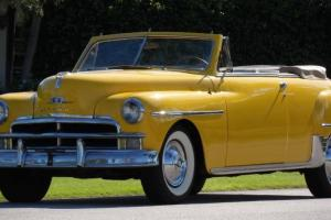 1950 Plymouth deluxe convertible Photo