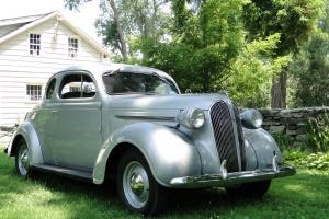1937 PLYMOUTH RUMBLE SEAT COUPE