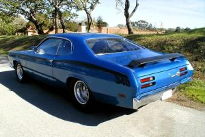1971 PLYMOUTH DUSTER FULLY TUBBED PRO STREET ROTISSERIE SHOW CAR 500HP 360