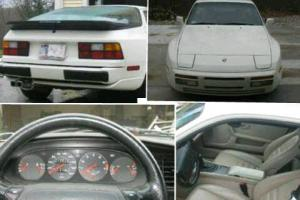 944 TURBO (951) TOURING EDITION , WHITE W/ CREAM COLORS, 5 SPEED