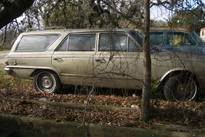 1965 American Motors Rambler Wagon 6 Cylinder 4 Door Restoration Project