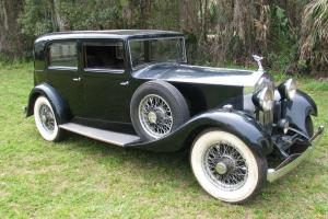 1934 Rolls-Royce 20/25 gentlemans saloon Photo