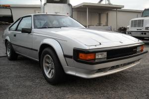 1985 Toyota Supra silver sunroof 2.8 motor 5 speed