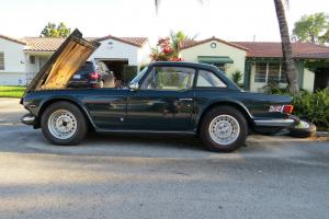 74 Triumph TR-6 for restoration or parts Dealer AC redlines NO RESERVE has title Photo