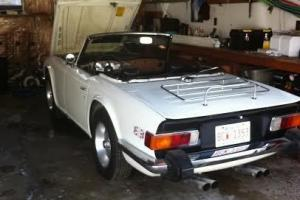 1976 Triumph TR6 Roadster Photo
