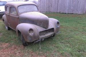 1941 Willys Sedan Americar Complete Should Run Barn FInd Restorable  Car