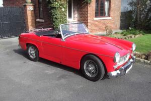 MG Midget MK1. 1962. Stunning Car. Photo