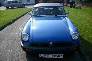 mgb roadster with overdrive box, ready to go