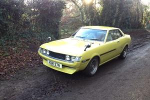 1975 Toyota Celica ST 1.6 Manual Coupe In Yellow. Fully restored TA22