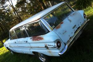 Ford Falcon Deluxe 1962 4D Wagon 3 SP Manual 2 8L Carb XL XK XM XP