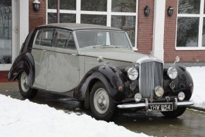 1948 Bentley Mk6 James Young Frame Off Restoration
