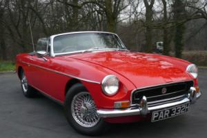"1970 ""H"" MGB Roadster 1.8 Manual"